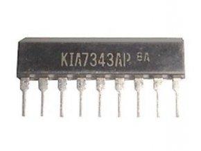 KIA7343AP - FM PLL stereodekodér, SIP9 / TA7343P /