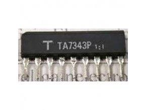 TA7343P - FM PLL stereodekodér, SIP9 / KIA7343AP /