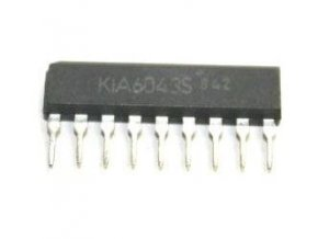 KIA6043S - stereo dekodér, SIP9