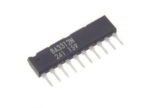 BA3312N nf zosilňovač stereo, SIP10