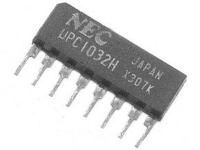 uPC1032H-2x stereo predzosilňovač pre autorádiá