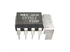 uPC575C2 - nf zosilňovač 2W DIL8