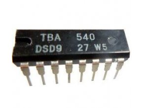 TBA540 - referenčný obvod PAL, DIL16