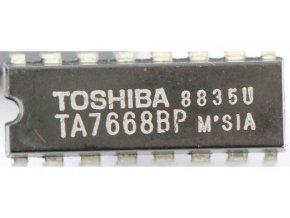 TA7668BP 2x predzosilňovač pre mgf TOSHIBA