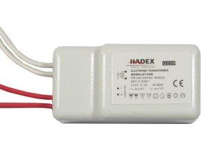 Elektronický transformátor ET-50 12V AC, pre osvetlenie