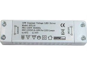 Zdroj - LED driver 12V DC / 10W ETL-10