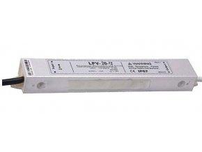 Zdroj - LED driver 12V DC / 20W - Carspa LPV-20-12