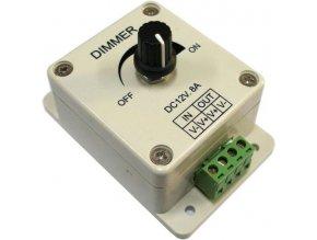 Stmievač pre LED pásiky 12V / 8A - 96W