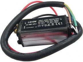 Zdroj- LED driver 10W, 20-36V / 280mm pre LED 10W, IP65, napájanie 230V