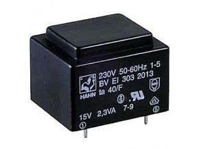 Trafo DPS 1,9VA 1x9V (0,21) 27,5x32,5x23,8 70 ° C