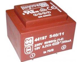 Trafo DPS 3,2VA 2x9V MYRRA 44200