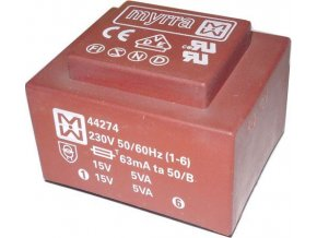 Trafo DPS 10VA 2x15V MYRRA 44274