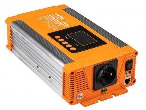 Menič napätia 24V / 230V 500W, CARSPA PX500 + USB, čistá sínusoida