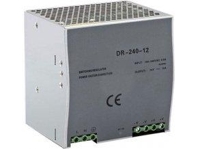 Priemyselný zdroj DR-240-12 12V = / 240W spínaný na DIN lištu