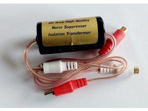 Odrušovací filter pre autorádio a zosilňovač do prívodu signálu
