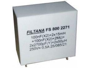 Odrušovací filter FS 800 2271, 250V / 0,5A