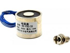 Elektromagnet P40 / 20 12VDC, 30kg