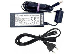 Napájač Sagemcom XKD-2000IC12.0-24W, 12V / 2A, konc.5,5x2,1mm, vypínač