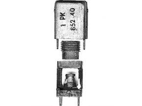 Cievka vf 10x10x18mm tŕň 5x18mm, ferit N05 + krúžok D