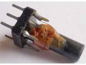Cievka vf 9x8x20mm, tŕň 5mm, feritové jadro, 1PN75206