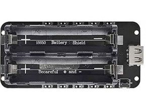Nabíječka-powerbanka, modul V8 pro ESP32,ESP8266 pro 2x Li-Ion 18650