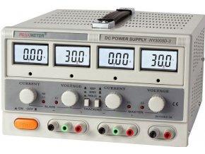 Laboratórny zdroj PeakMeter HY3005D-3 2x0-30V / 0-5A + 1x5V / 3A