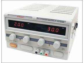 Laboratorní zdroj PeakMeter HY3020E 0-30V/0-20A