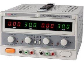 Laboratórny zdroj PeakMeter HY3003F-2 2x0-30V / 0-3A