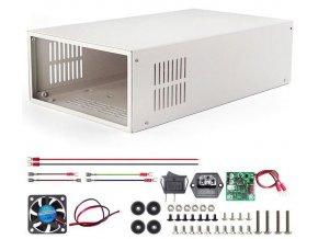 Krabica S06A k zdroju RD6006 s ventilátorom