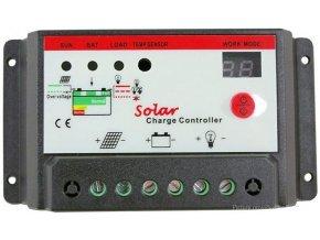 Solárny regulátor PWM KTD1220, 12-24V / 20A