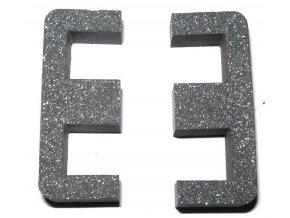 Feritové jadro E32 / 7,8 bez medzery, materiál H10 - pár