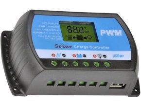Solárny regulátor PWM RTD1220 12-24V / 20A