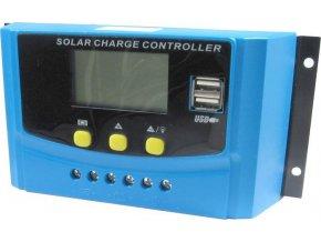 Solárny regulátor PWM CY-K40A, 12-24V / 40A pre rôzne batérie
