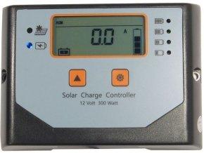 Solárny regulátor PWM Win300-N, 12V / 20A pre rôzne batérie
