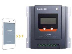 Solárny regulátor MPPT Lumiax MT3075-BT, 12-24V / 30A, s bluetooth