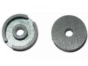 Feritové jadro - hrnček P9x5 bez medzery, materiál H12 - pár