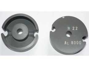 Feritové jadro - hrnček P36x23, materiál H22, Al8000 - pár
