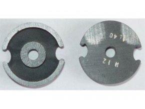 Feritové jadro - hrnček P18x11, materiál H12, Al40 - pár