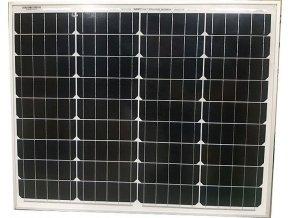 Fotovoltaický solárny panel 12V / 50W monokryštalický 670x540x25mm