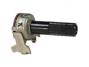 2k0 / N ALPS hriadeľ 6x20mm, potenciometer otočný