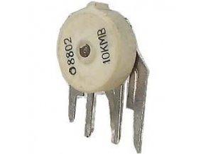 10k / N, potenciometer otočný s vypínačom
