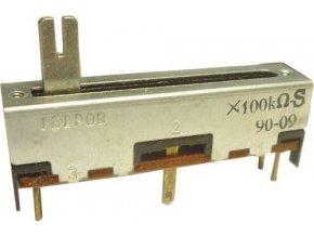 100k / S TELPOD SVP-30, potenciometer ťahový s odbočkou