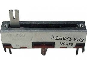 220k/G x2, TELPOD SVP-30, potenciometr tahový tandemový