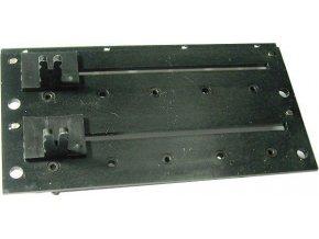 1K0 / N x2 TP601, potenciometer ťahový dvojitý