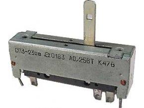 470R / N SP3-23, potenciometer ťahový