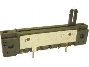 220K / G PREH, potenciometer ťahový / TP640 /