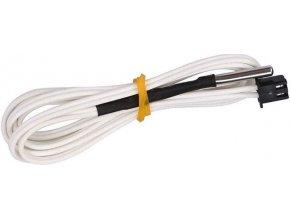 Teplotný snímač s termistorom NTC 100k pre 3D tlačiarne, kábel 1m