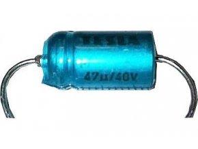 47uF / 40V TF010, elektrolyt.kondenzátor axiálne