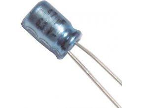 47u / 6,3V 85 ° 5x7x2mm ISKRA, elektrolyt.kondenzátor radiálne