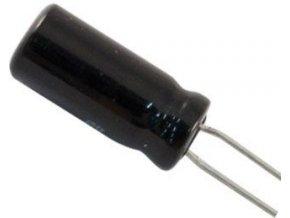 100U / 16V 105 ° 5x11x2,5mm, elektrolyt.kondenzátor radiálne